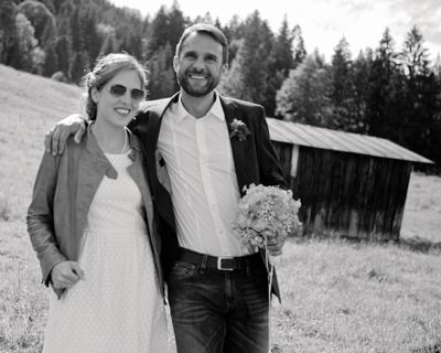 Hochzeit auf der Sprungschanze in Oberstdorf