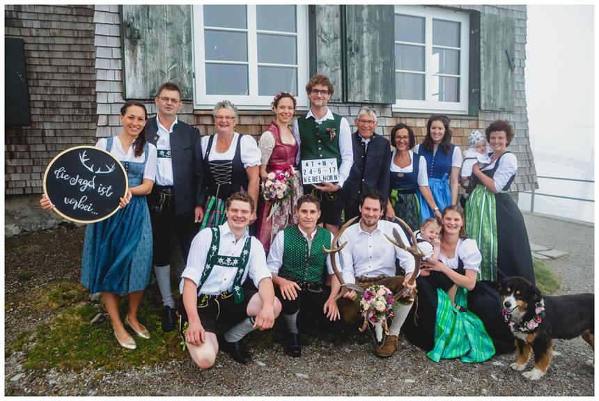 24 Hochzeit auf dem Nebelhorn Marion dos Santos Fotografin Allgaeu