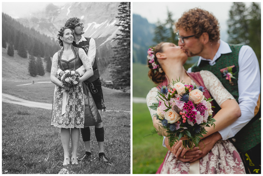 29 Hochzeit auf dem Nebelhorn Marion dos Santos Fotografin Allgaeu