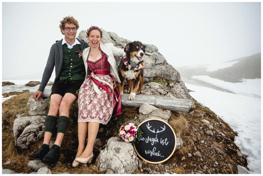 39 Hochzeit auf dem Nebelhorn Marion dos Santos Fotografin Allgaeu